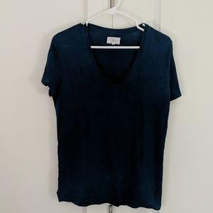 Lou & Grey Blue Linen Shirt